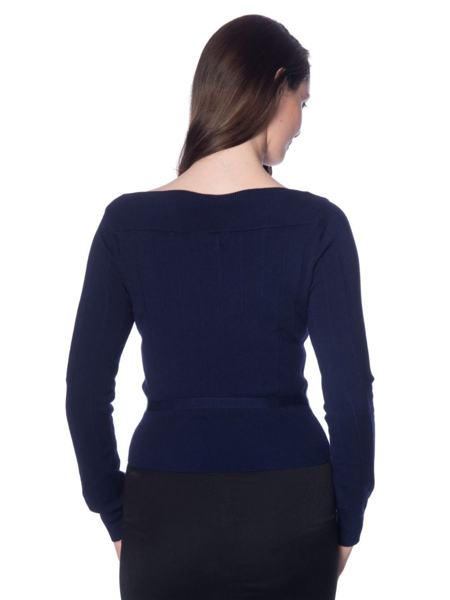 VIOLETTA KNITTED TOP