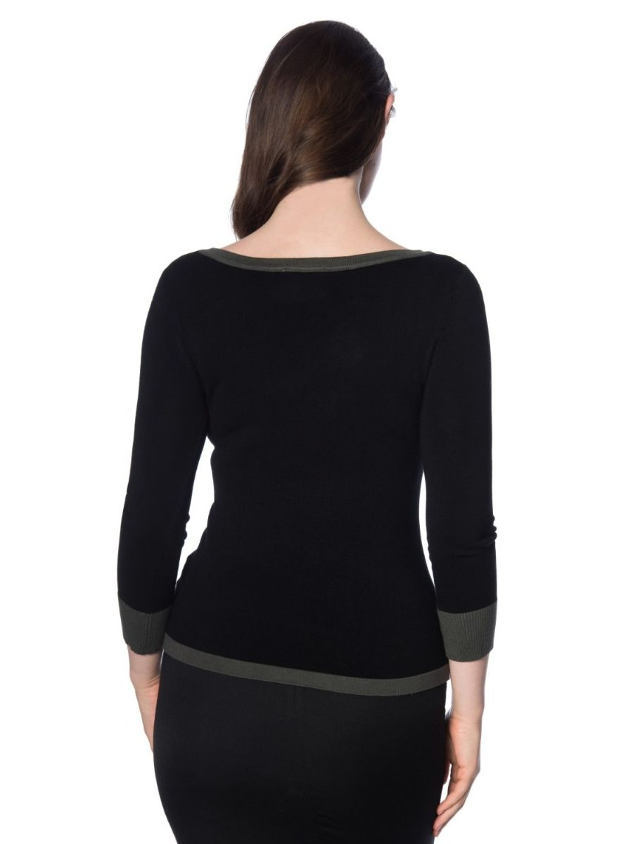 VIVEKA KNITTED TAB TOP