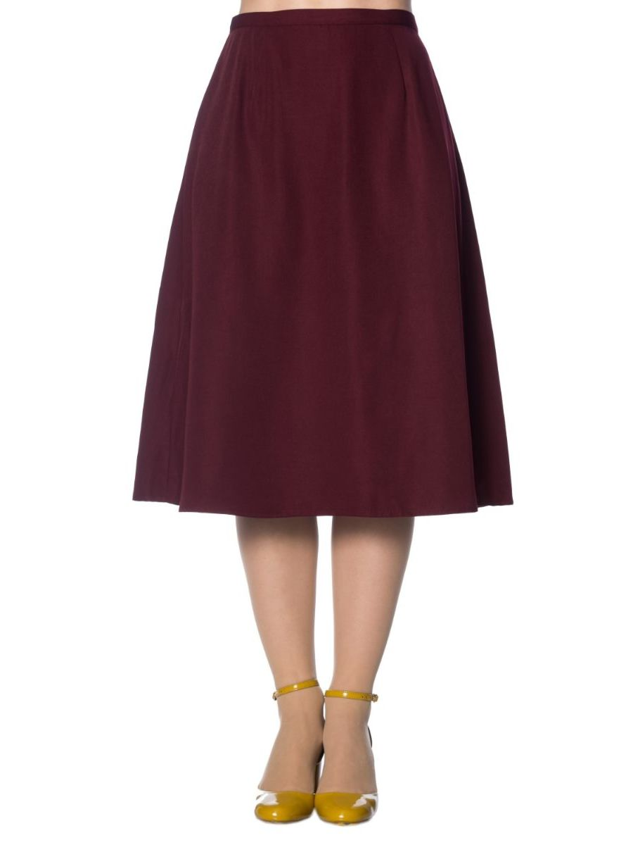 SUE-ELLEN BIAS CUT SKIRT