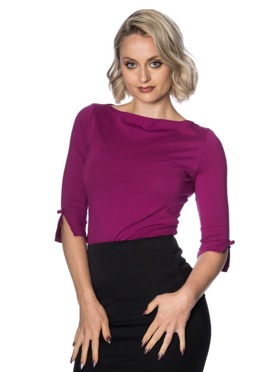 OONAGH BASIC TOP