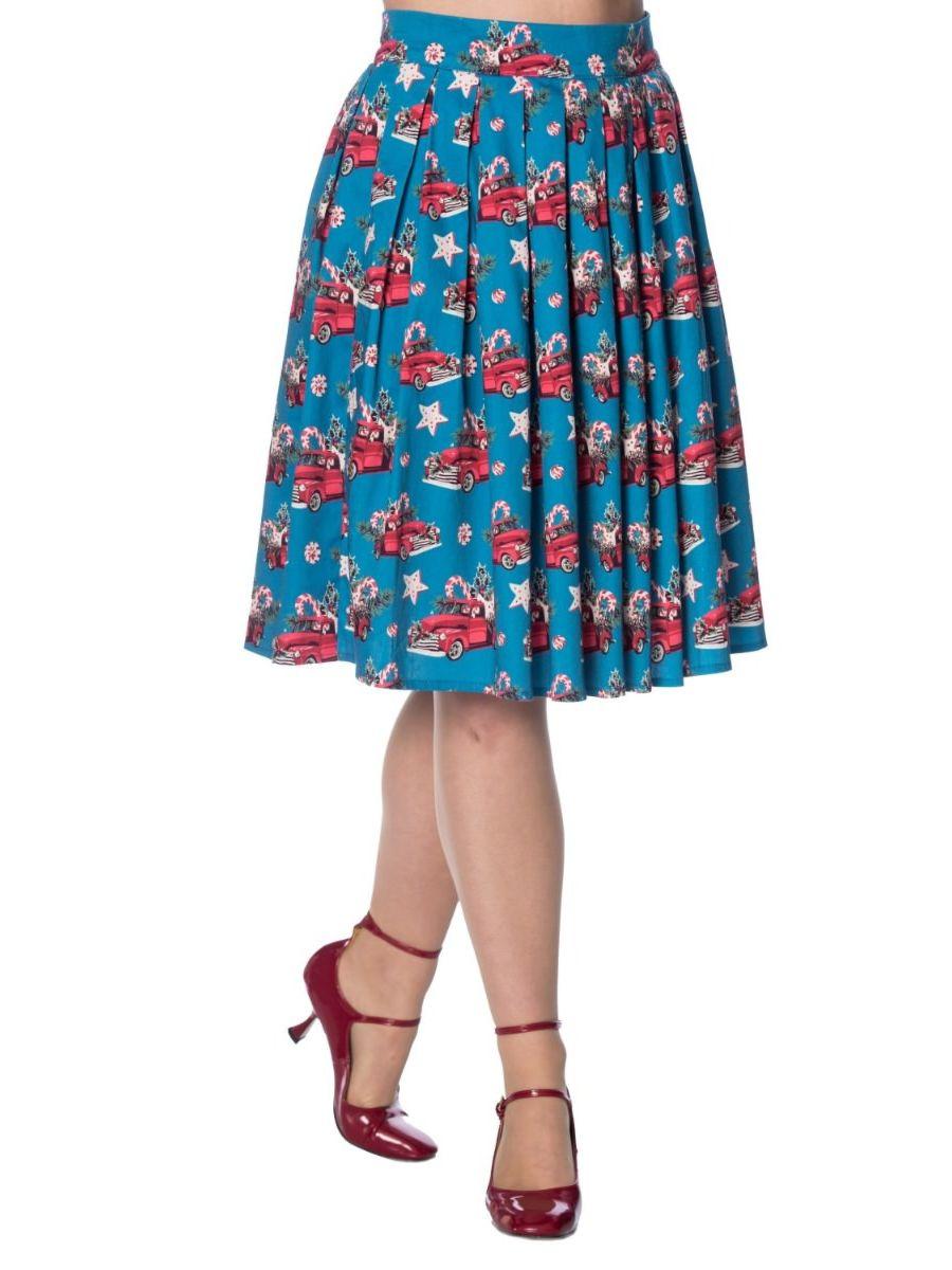 Christmas Drive Thru Skirt