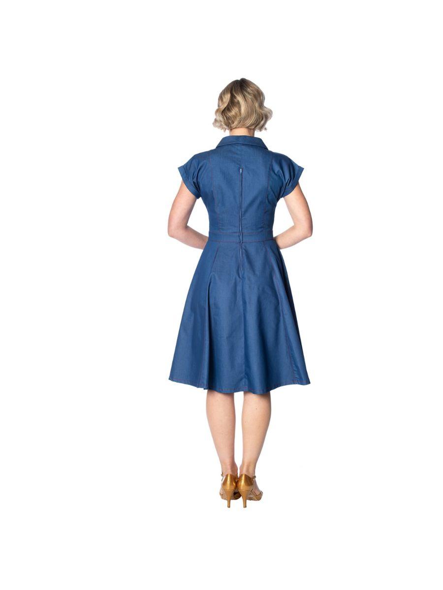 SEASIDE DINER 50's DRESS