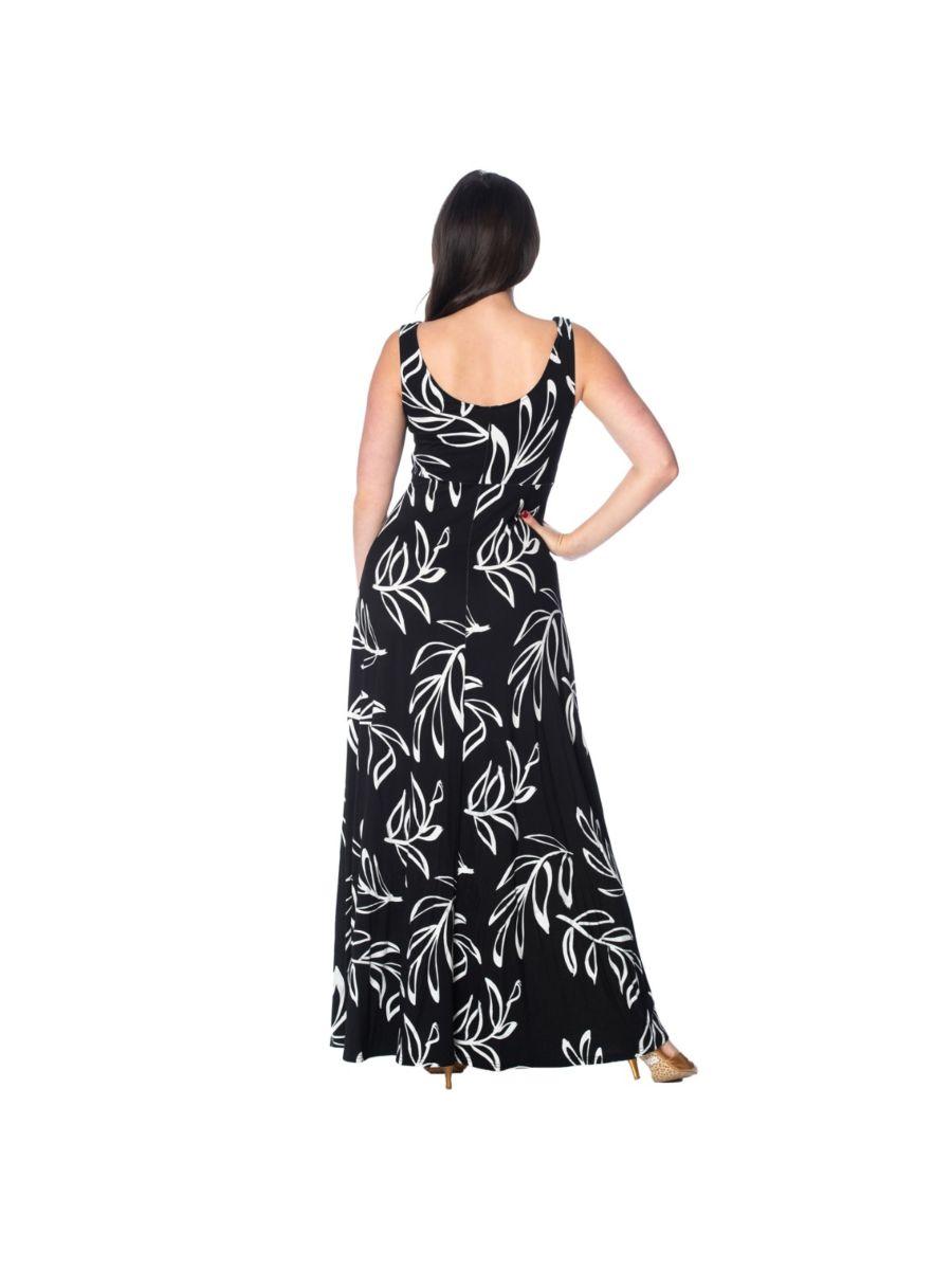 PALM MAXI DRESS
