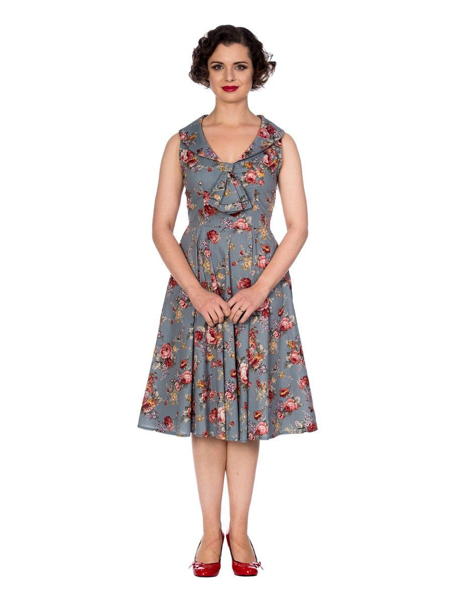 SUMMER FOREST FLORAL DRESS