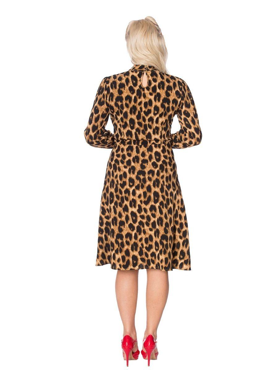 LEOPARD LADY DRESS