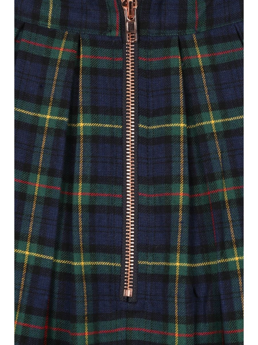 CHRISTMAS CHECK SKIRT