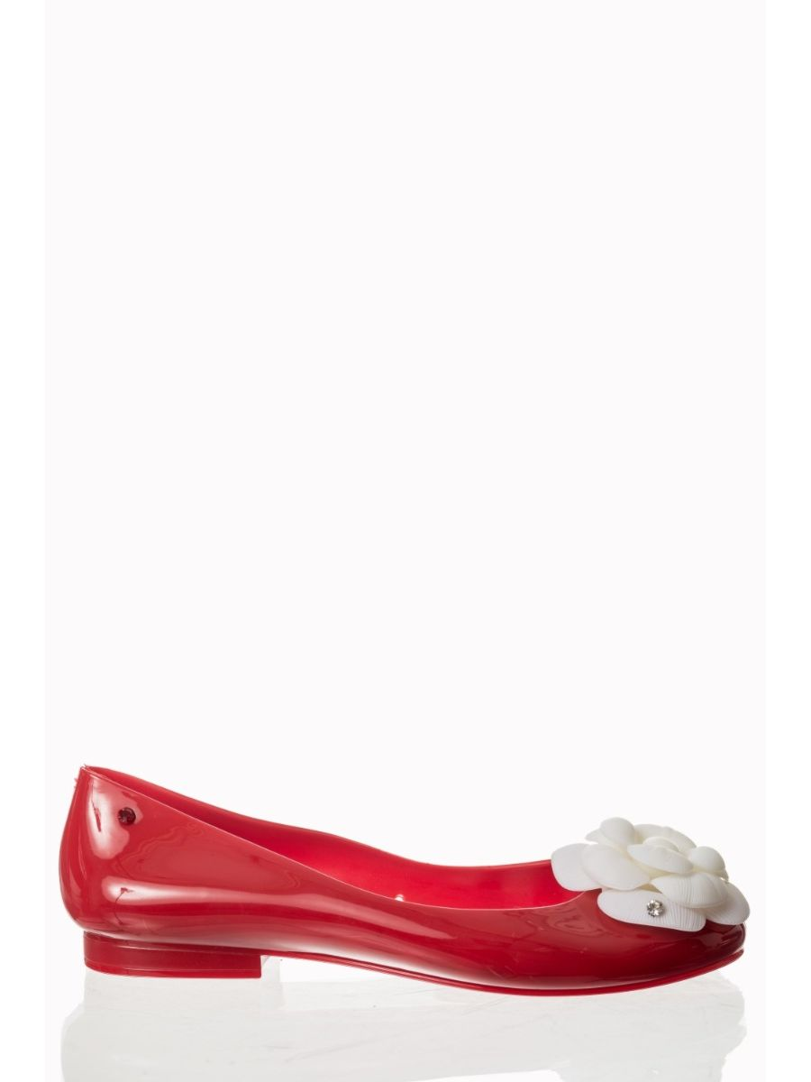 PENNIES FROM HEAVEN FLORAL BALLERINA FLATS