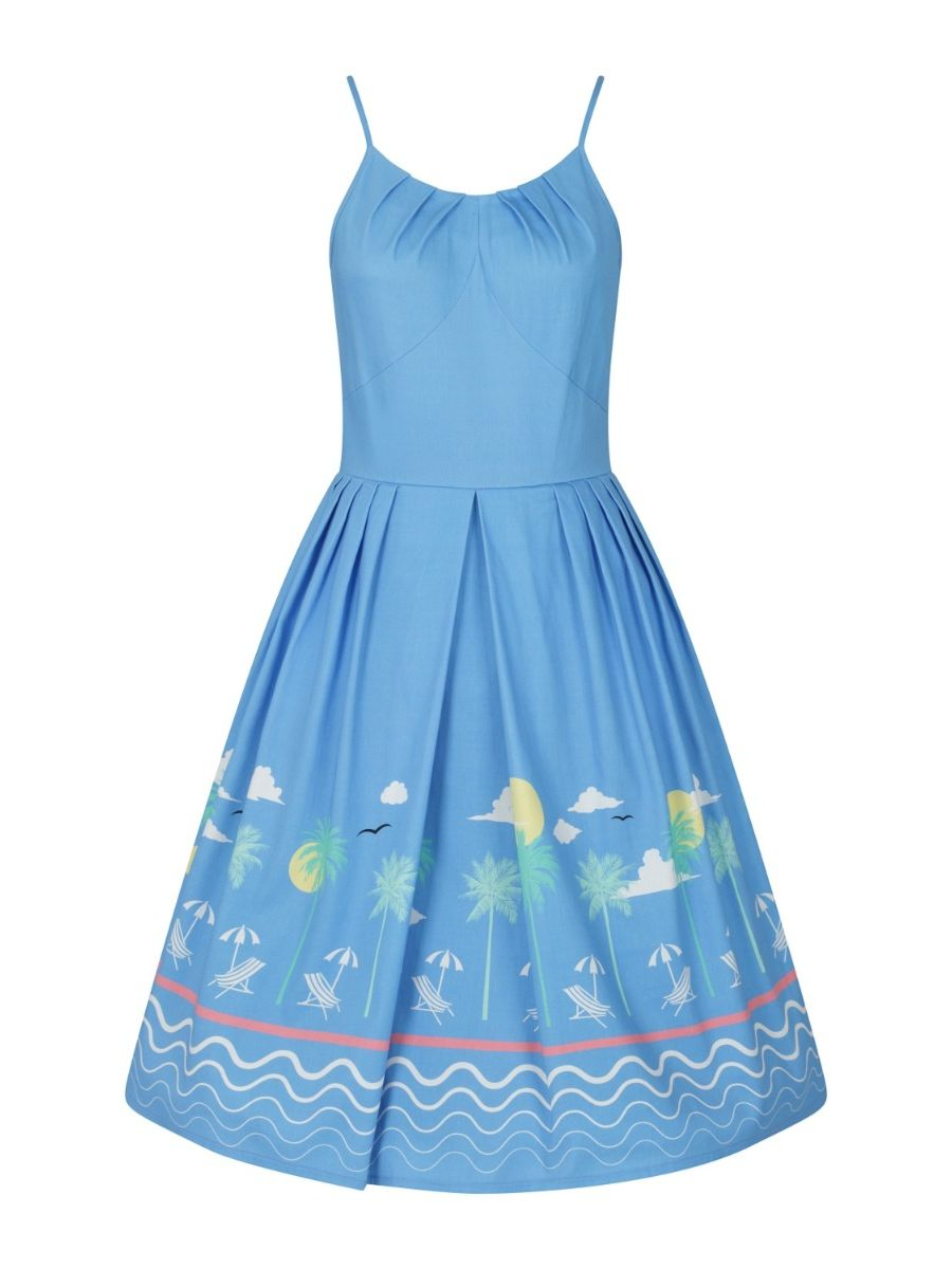 50s HOLIDAY DRESS