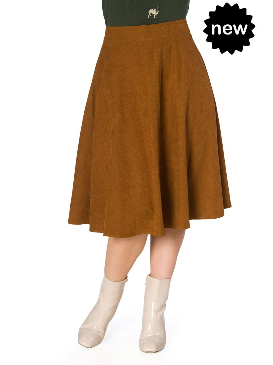 SOPHISTICATED LADY SWING SKIRT
