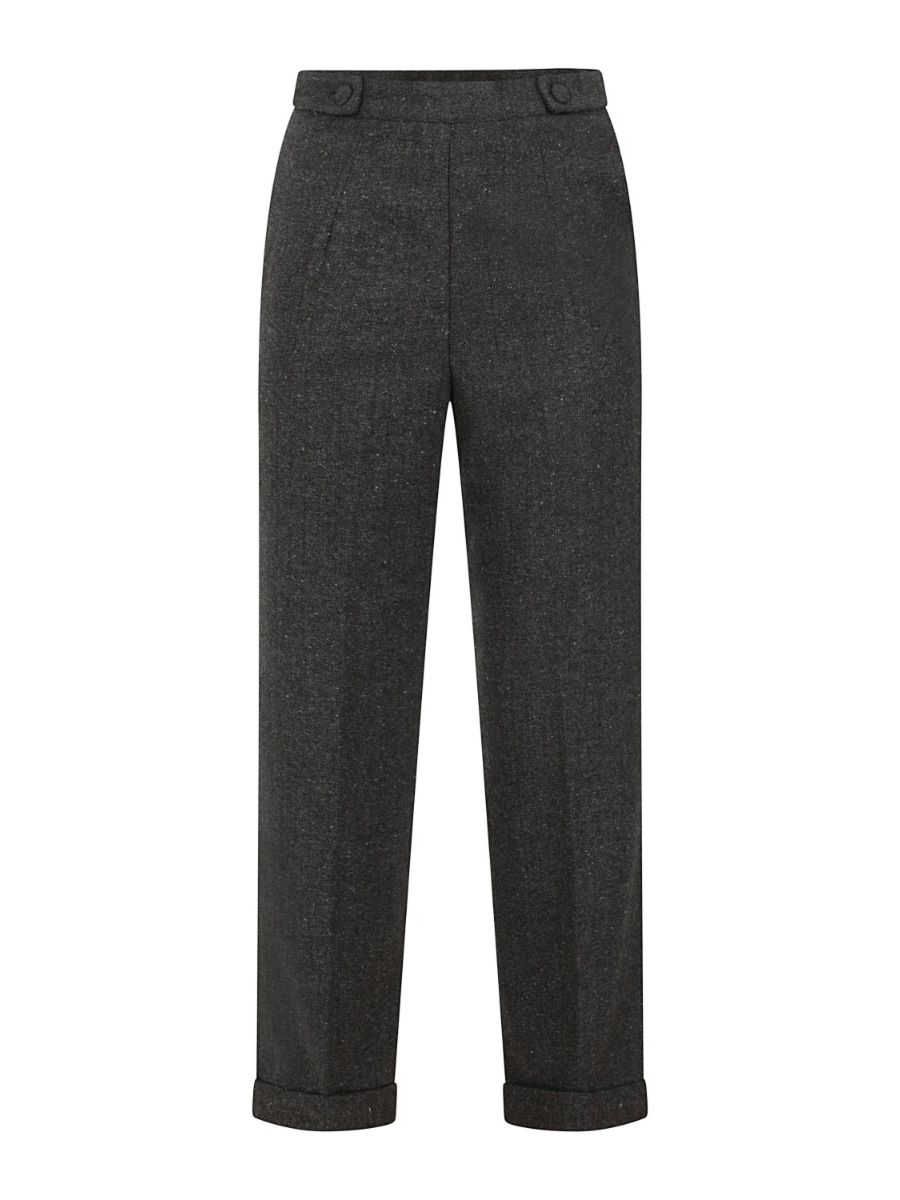 BUTTON SIDE TROUSERS