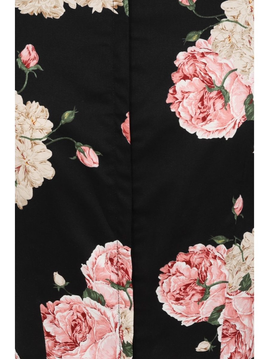 Banned Retro 1950's English Rose Floral Lady Jane Fit & Flare Dress