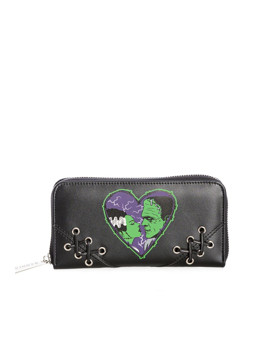 MADE FOR EACH OTHER WALLET-Black