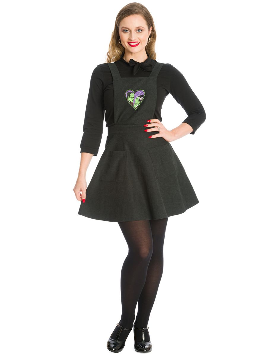 MADE FOR EACH OTHER DRESS-Black