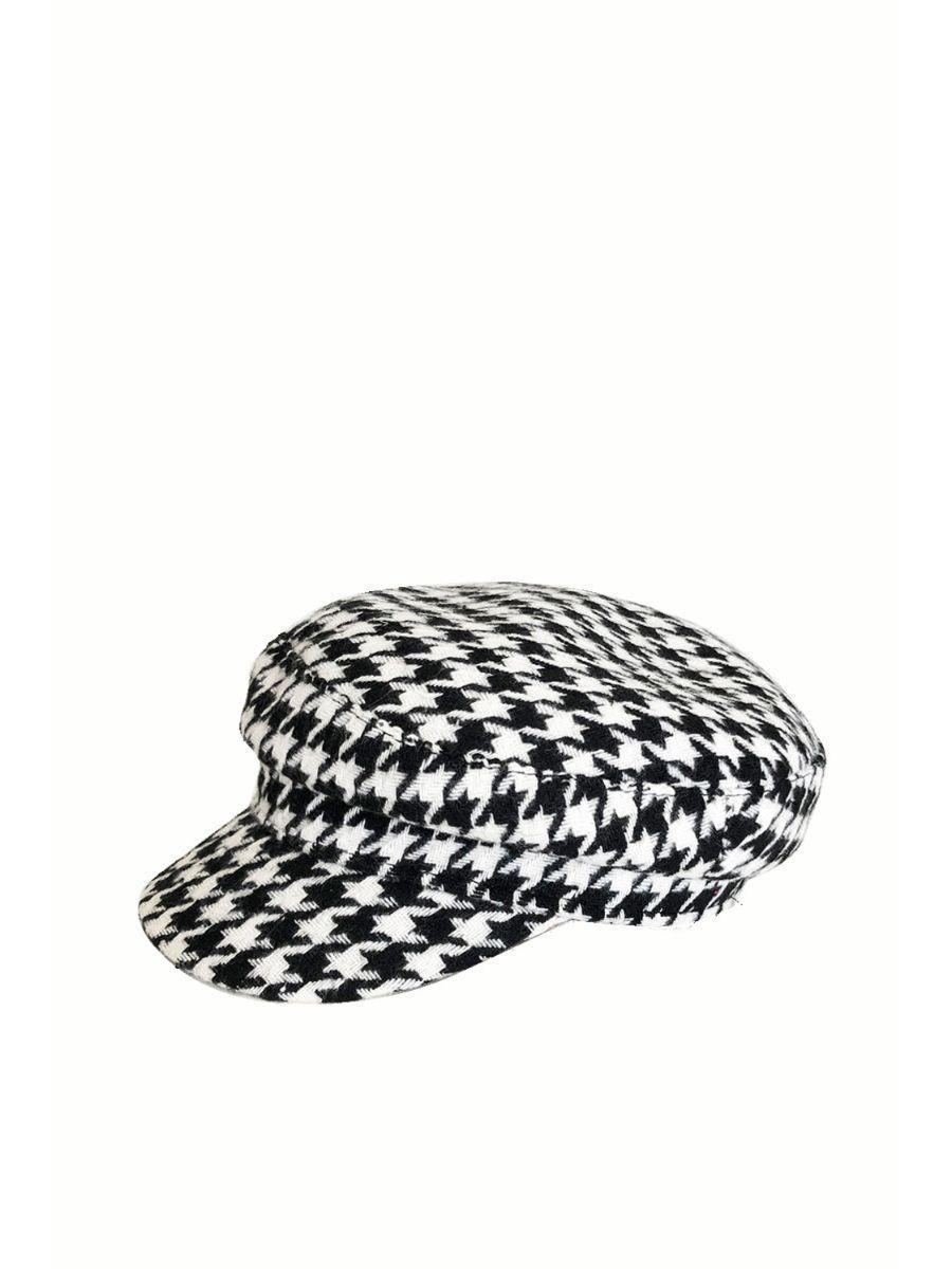 HOUNDSTOOTH BAKER CAP