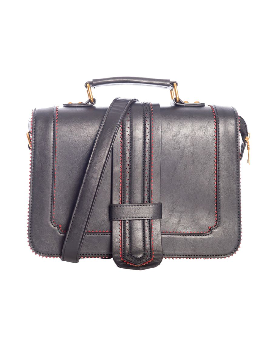 BETTY DOES COUNTRY BROGUE SATCHEL BAG