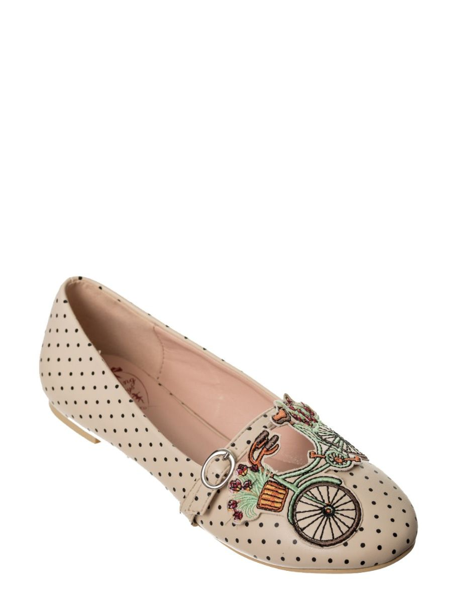 BICYCLE FOR TWO BALLERINA FLATS