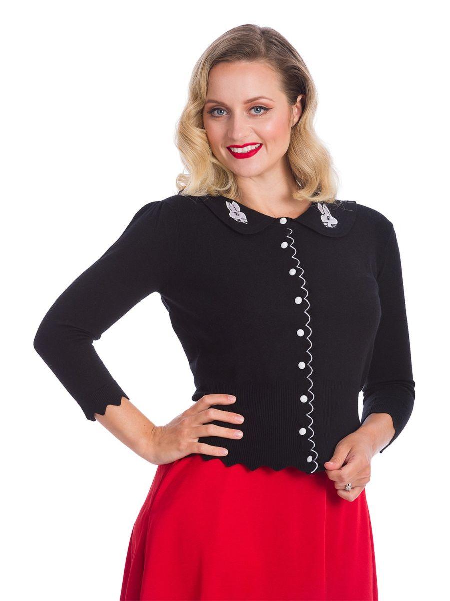 Banned Retro 1950's Bunny Hop Knit Ava Cardigan