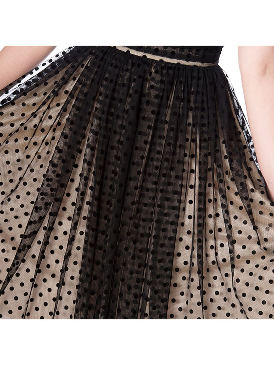 LETS DANCE FIT AND FLARE DRESS