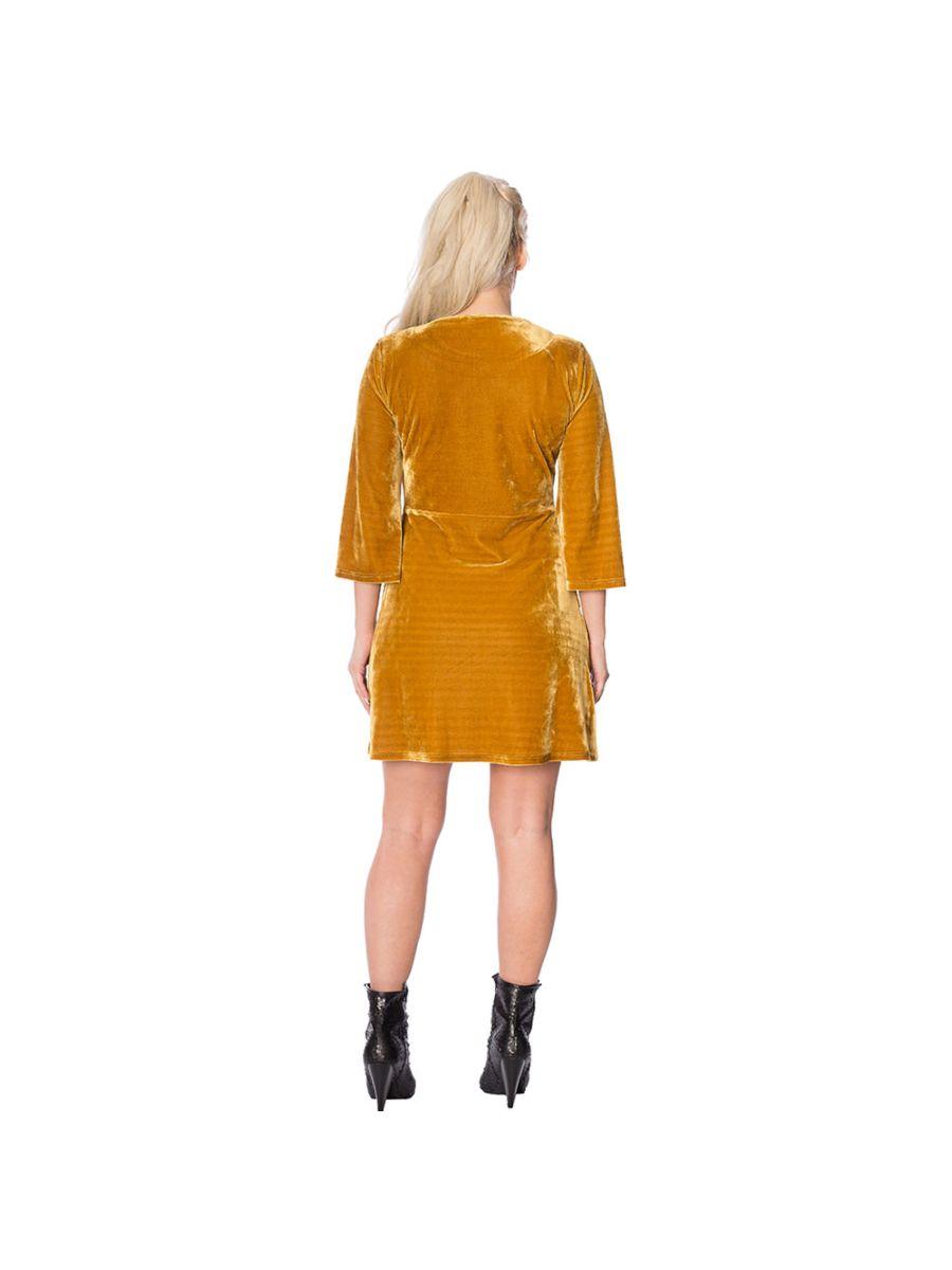 60'S VELVET DRESS