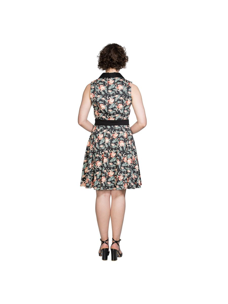 FLAMINGO HONNIE FLARE DRESS