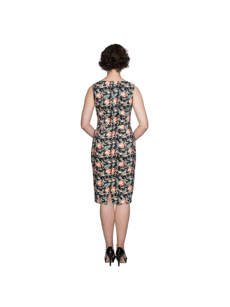 FLAMINGO HONNIE PENCIL DRESS