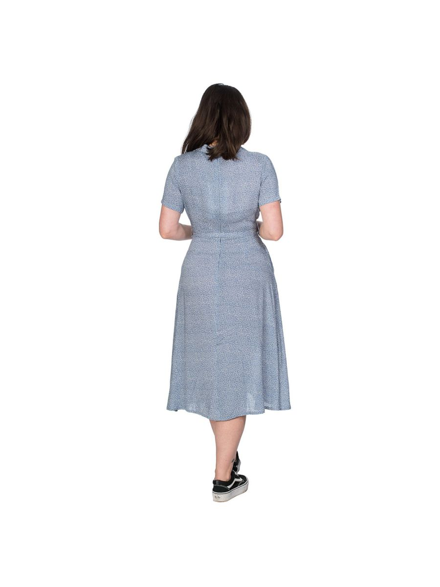 DITZY FLORAL DRESS