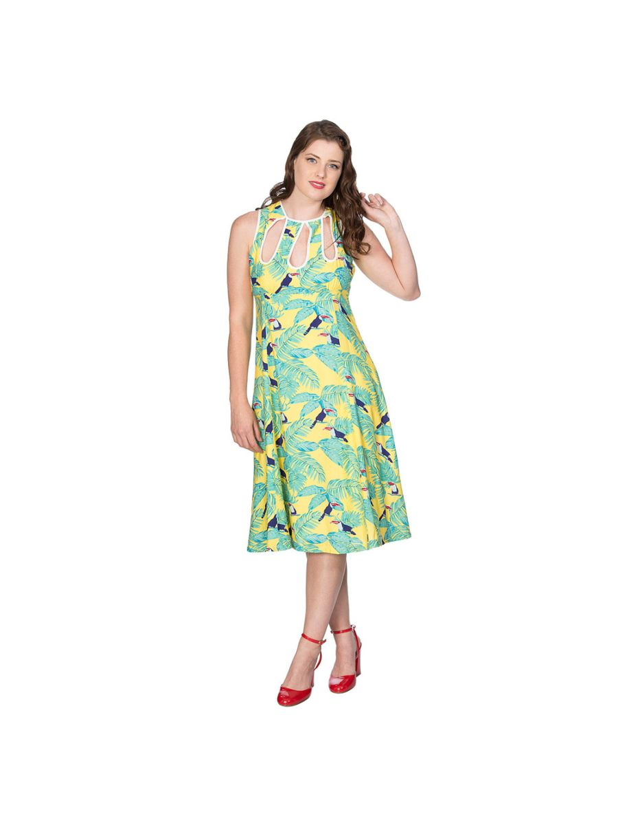 TOUCAN ALL OVER DRESS