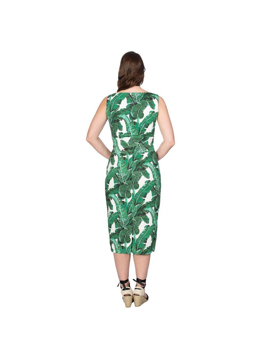 TROPICAL LEAVES DRESS
