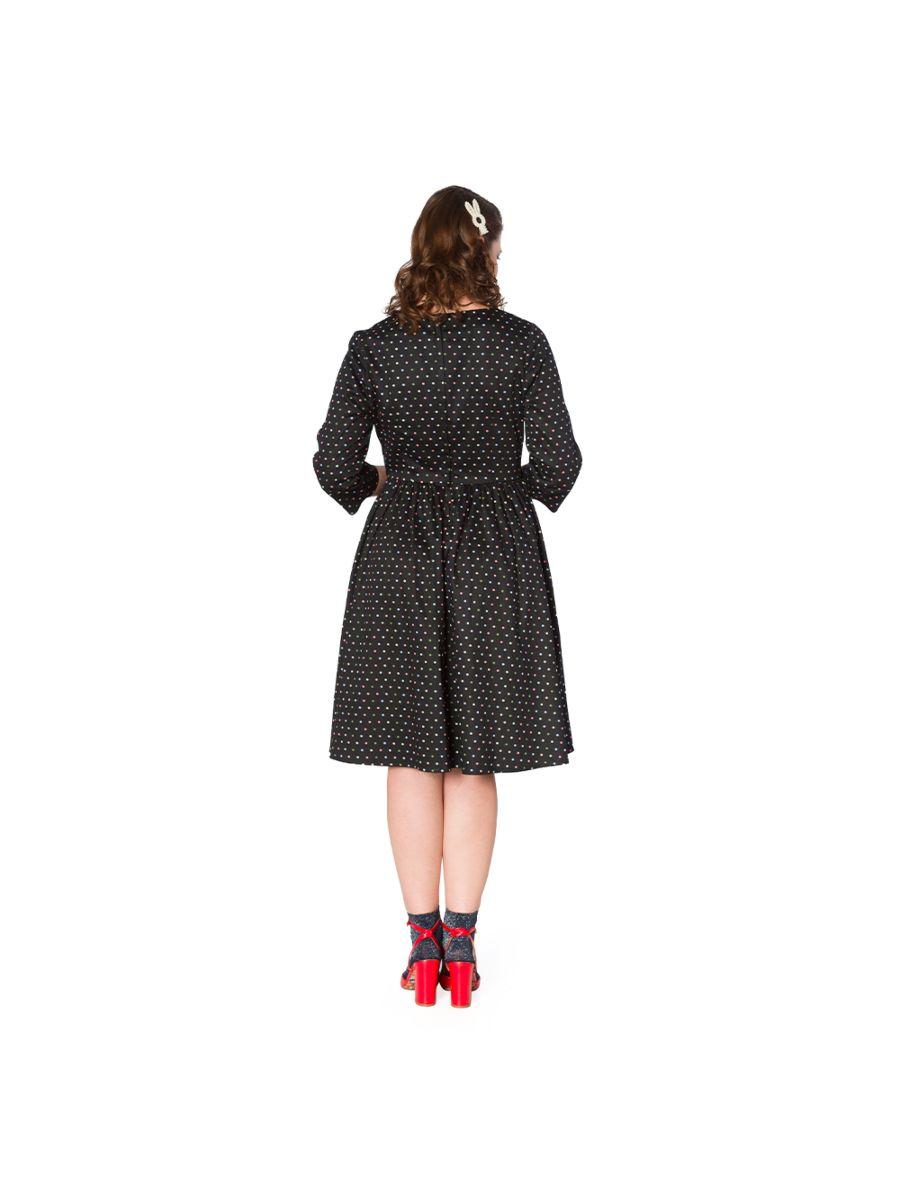 SPOT FLARE DRESS