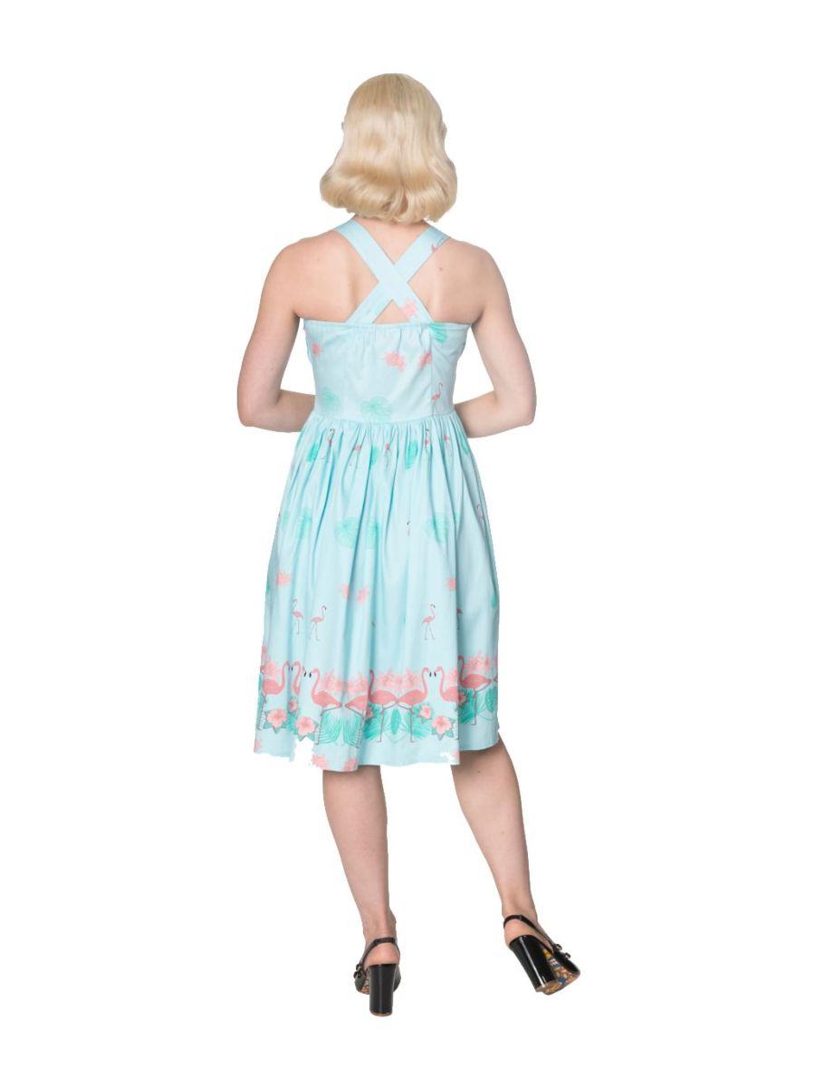 GOING MY WAY HALTERNECK DRESS