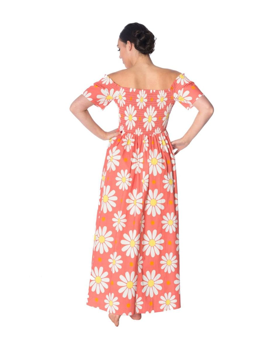 CRAZY DAISY SMOCK DRESS