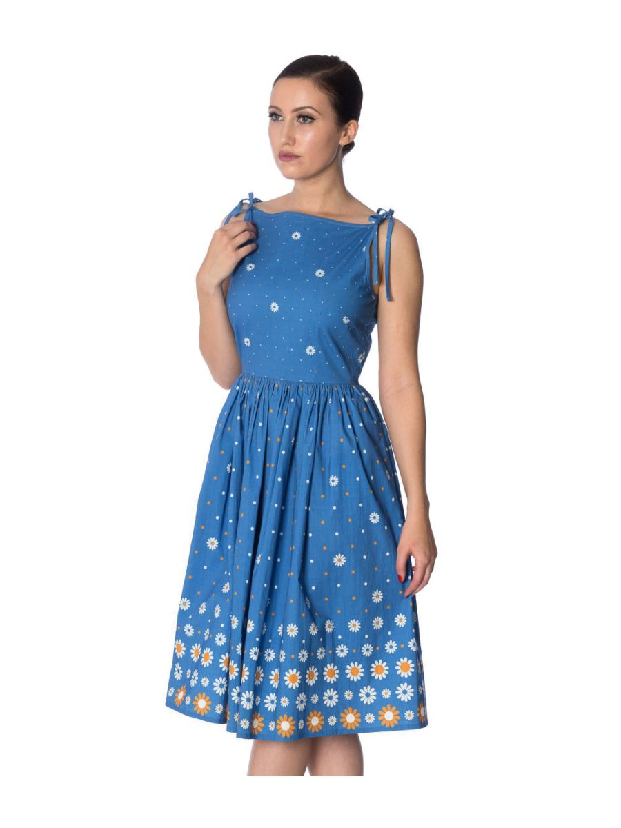 DAISY CHAIN 50's TIE SUNDRESS