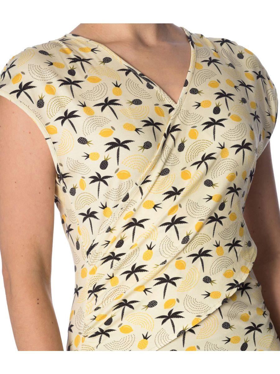 PALM SHADE CROSS OVER DRESS