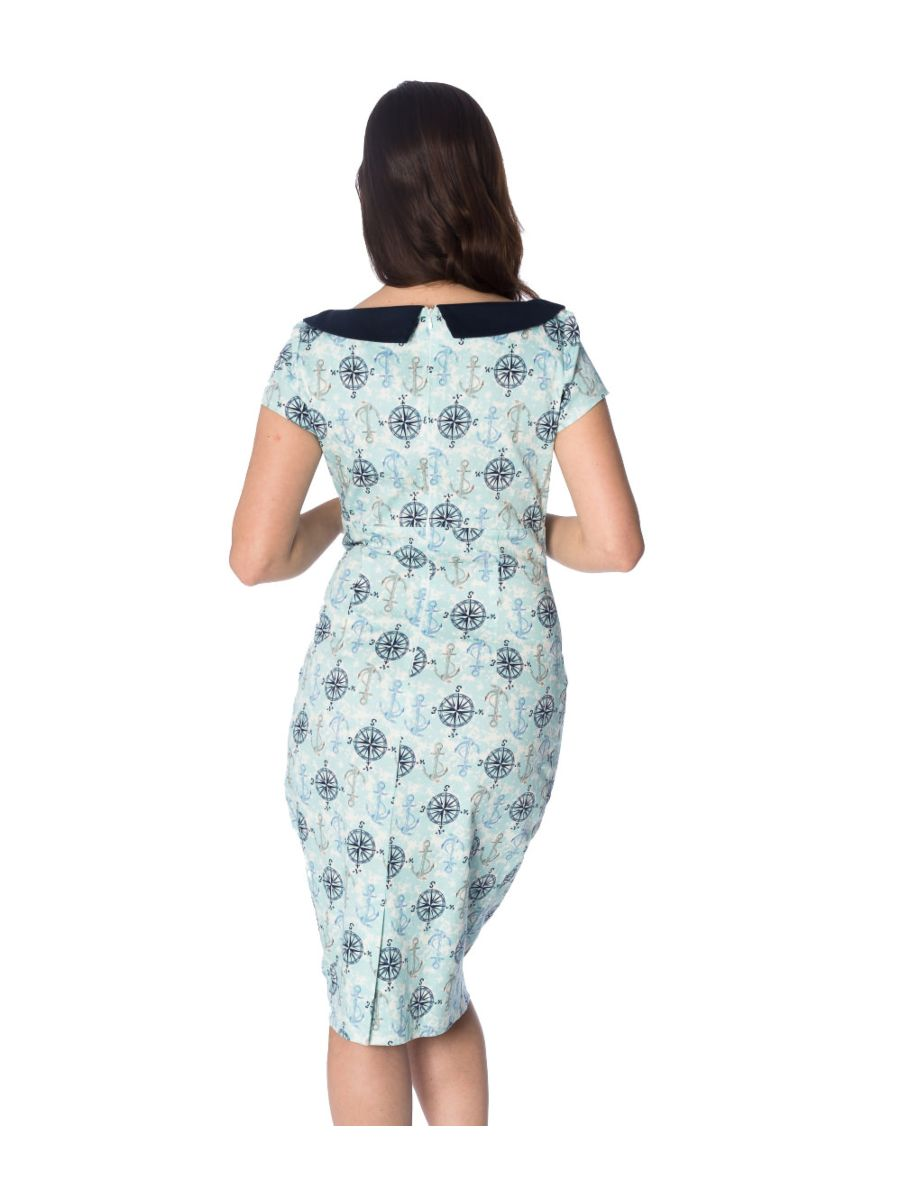 COMPASS WIGGLE DRESS