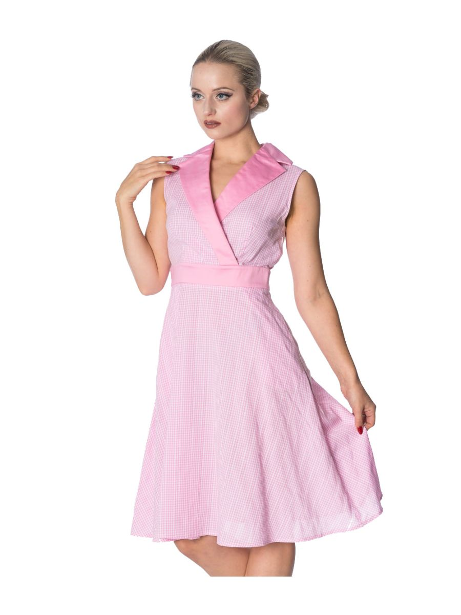 GREASE GINGHAM DRESS