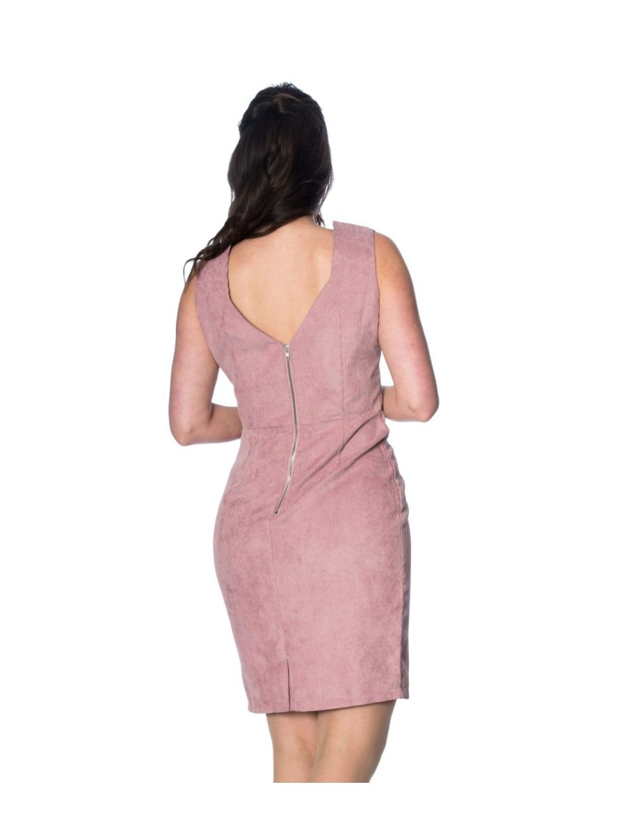 Shelly Cord Wiggle Dress