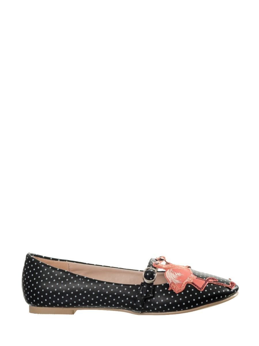 MAGIC MOMENT BALLERINA FLATS