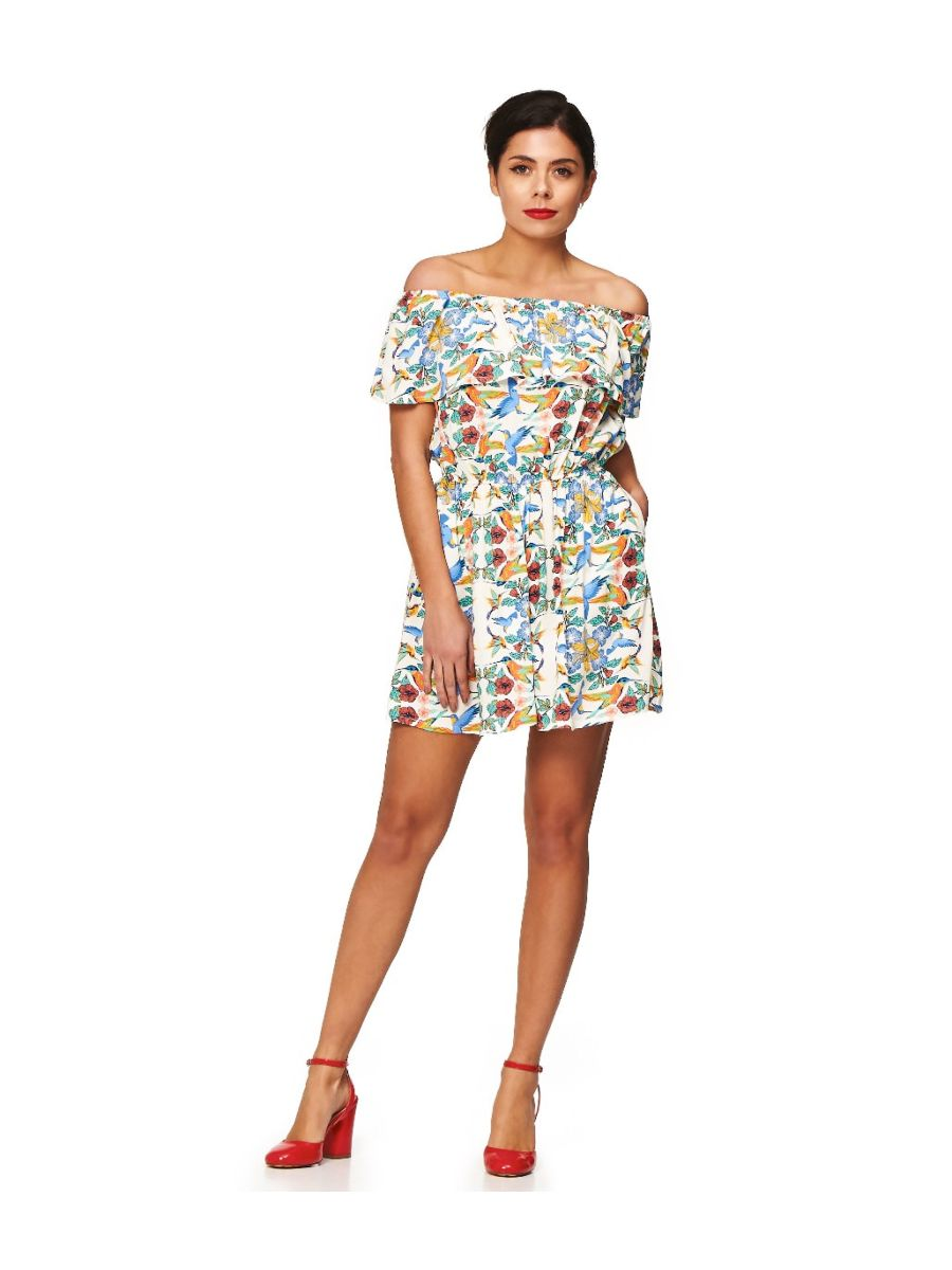 MANDALA OFF SHOULDER PLAYSUIT