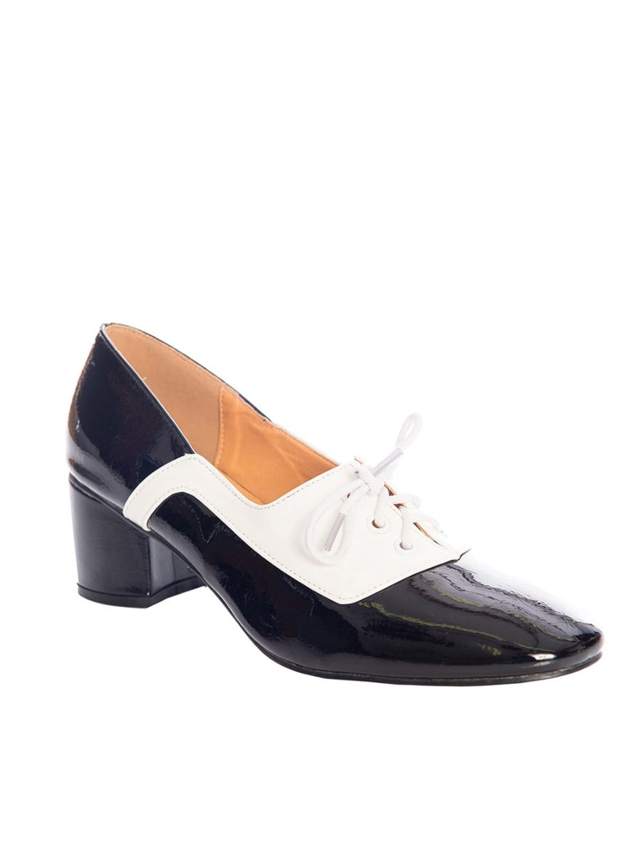THE MODERNIST TWO TONE LACE SHOE