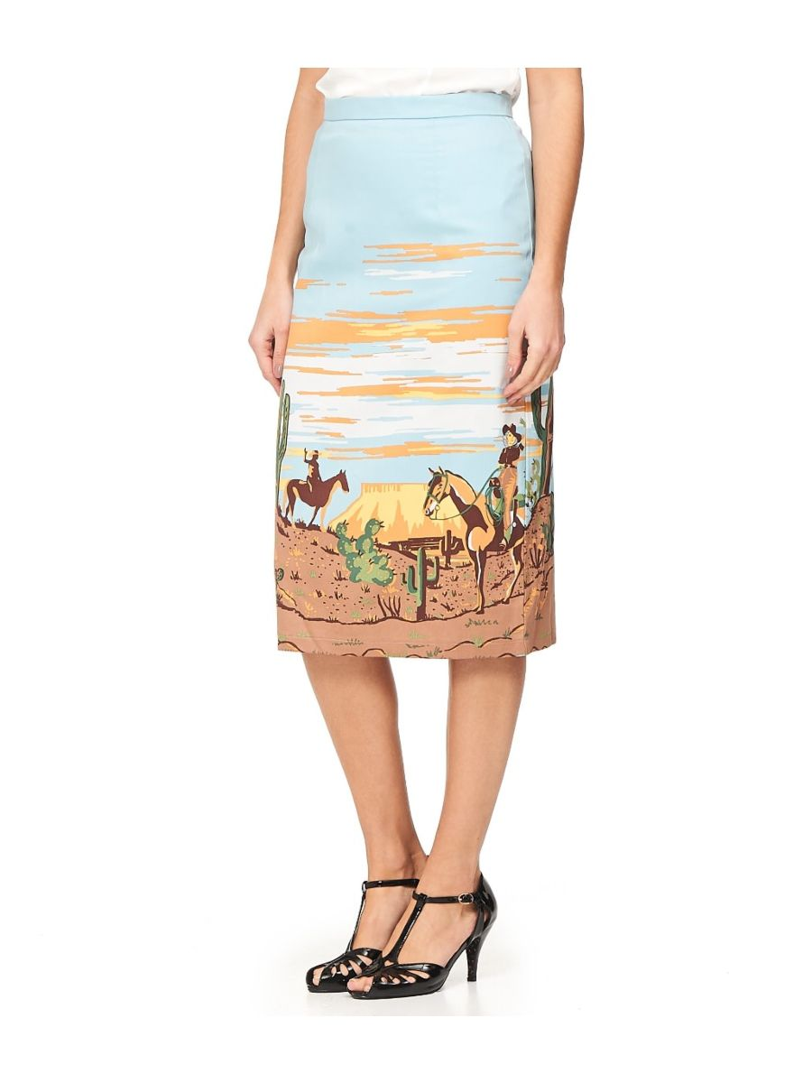 MAGICAL DAY PENCIL SKIRT