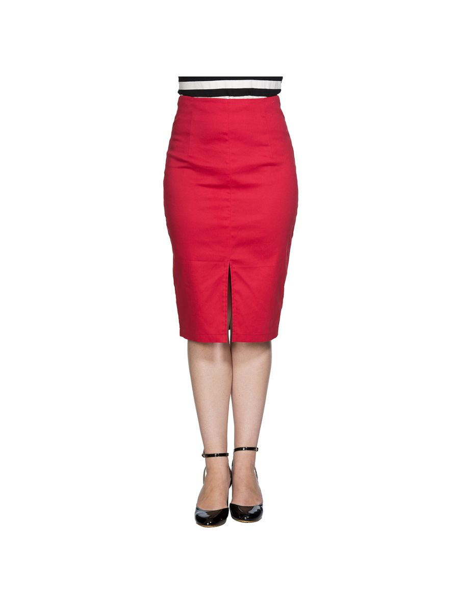 PLAIN PENCIL SKIRT