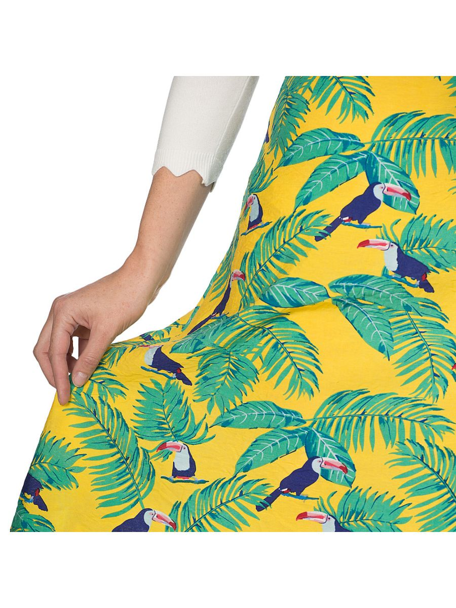 TOUCAN ALL OVER SKIRT