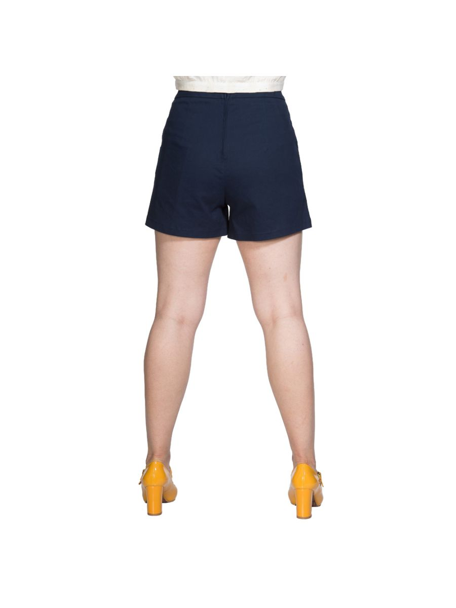EMBROIDERY TOUCAN POCKET SHORT