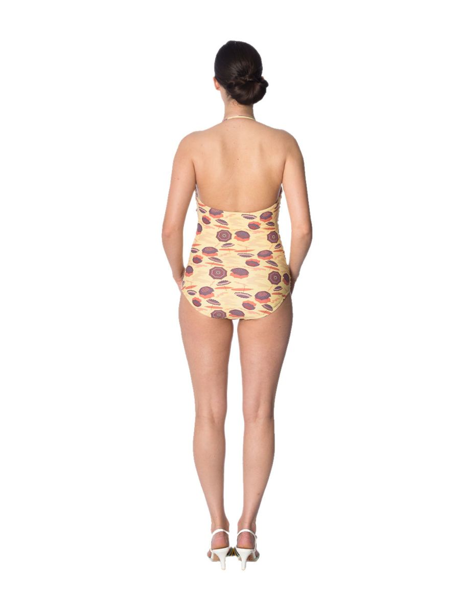 PARASOL RUCHING SWIMSUIT