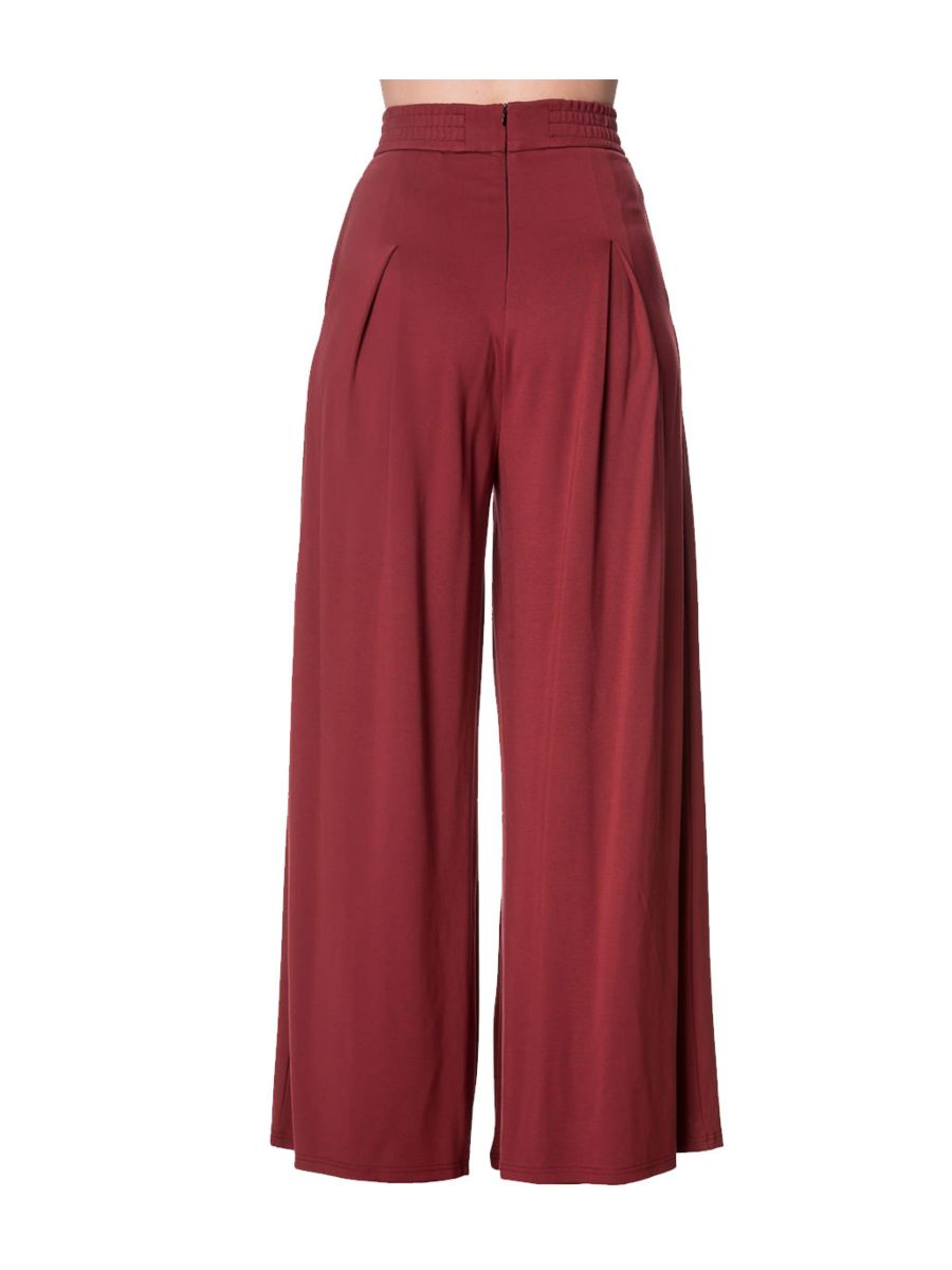 INDIANA WIDE LEG TROUSERS