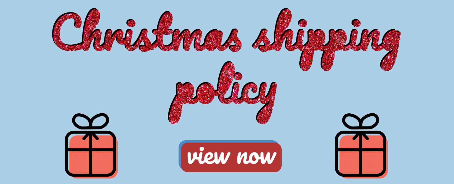 Christmas Policy