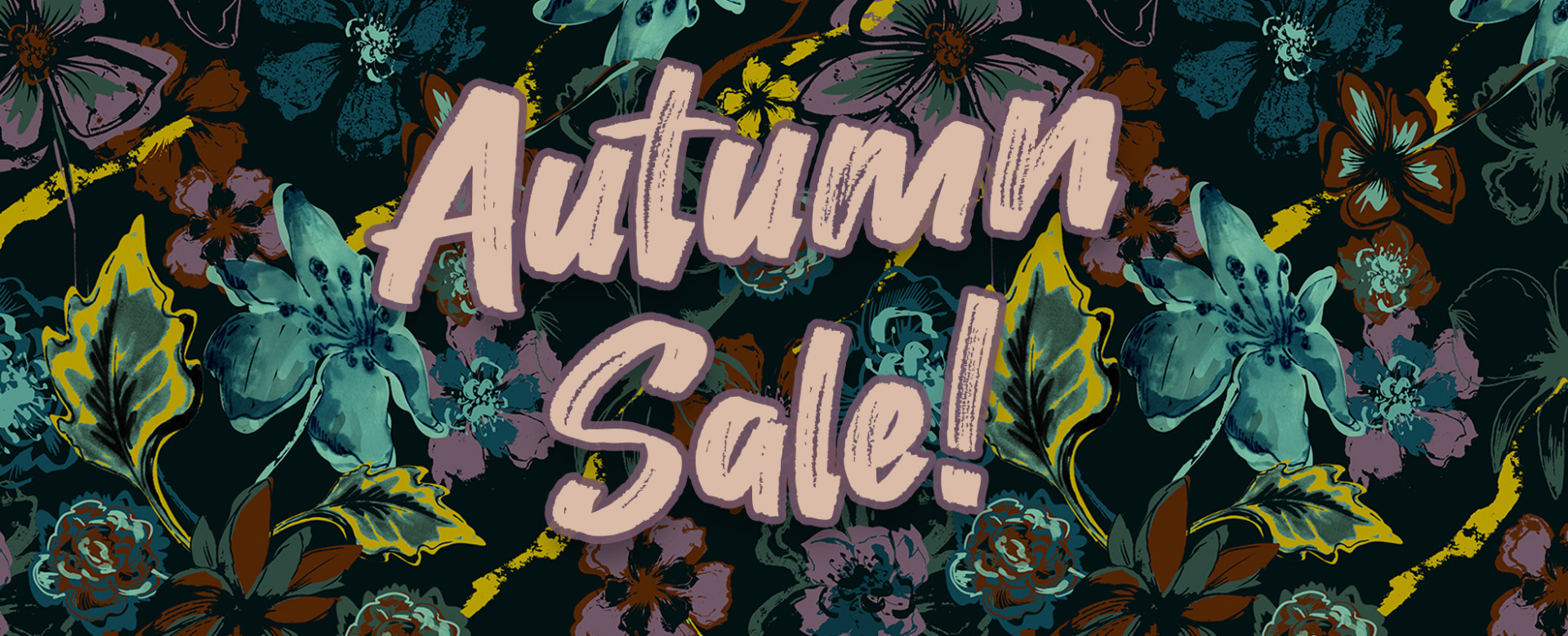 Retro Autumn Sale
